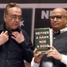 Despite Sena protest, Kasuri's book 'Neither a Hawk, Nor a Dove' is launched