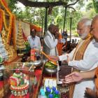 Will develop Bodh Gaya as spiritual capital, says Modi