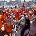 Kumbh: Woman seer demands facility at par with males; arrested