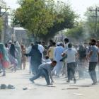 Youth killed in fresh clashes in Kashmir; curfew continues