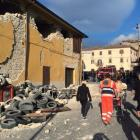 Italy devastated by massive quake, 37 dead so far