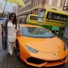 Mrs Mehta couldn't tame the Lamborghini