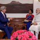 John Kerry meets PM Narendra Modi; extends India visit