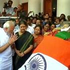 PHOTOS: PM Modi, other leaders pay tributes to Jayalalithaa