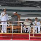 President, PM Modi review naval fleet