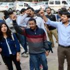 Won't forgive those behind anti-India slogans: Rajnath on JNU protest