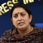 JNU row: Irani condemns protest, student leader held