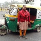 Good news for lady auto driver who battled bad luck