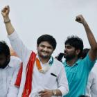 Hardik returns to Gujarat to address Patel community rally