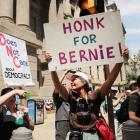 A wedding proposal, protests and scandal: Democratic Convention begins