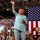 Hillary makes HISTORY!