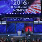 It's official: Hillary makes history as 1st female presidential nominee