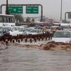 6-hour snarls, knee-deep water... What's it like to be in Gurugram today