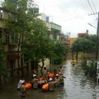 Bengaluru sinks in rain; rescue boats hit streets