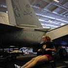 PHOTOS: Life inside an aircraft carrier