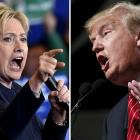 Clinton leads Trump in two new opinion polls
