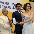 Kangana steals the show at National Awards