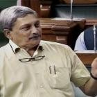 UPA did everything to help Agusta, says Parrikar in Lok Sabha