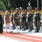 Modi meets Prez Rouhani, Chabahar Port pact on Iran agenda