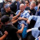 Trump supporters, protestors clash in San Diego, 35 arrested