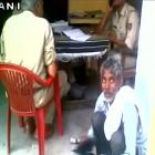 Shocking! UP cops ask 'complainant' to polish their shoes