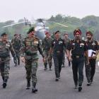 Army chief reviews 'operational preparedness' along LoC