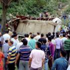J & K: 19 killed, 26 injured as bus falls into gorge in Reasi