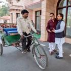 The UP rickshaw puller who earned the ride of a lifetime