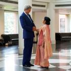Despite rain and traffic, Kerry still had a 'terrific' India trip