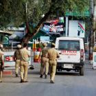 Maps recovered from terrorists involved in Uri attack