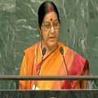 Modi lauds, Congress criticises Swaraj for UNGA address