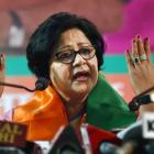 Former Delhi Women Congress chief joins BJP