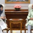 J-K CM Mehbooba meets PM, emphasises on dialogue