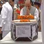 Rajnath pays homage to 25 CRPF men killed in Naxal attack