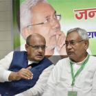 Nitish-led JD-U back in NDA; blames Congress for alliance failure