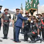 PHOTOS: President's Colours for Ladakh Scouts