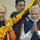 BJP survives Gujarat scare; tramples Congress in HP