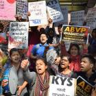 Umar Khalid row: Protests continue in Delhi, students groups seek action against ABVP