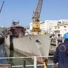 INS Betwa undocked smoothly but after 'minor' incident