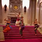 When Queen Elizabeth tried dance mudras