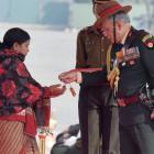Siachen braveheart Lance Naik Hanamanthappa awarded Sena Medal
