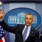 Here's what Obama said in last presser as US Prez