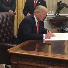 On Day 1 in office, Trump signs executive order against Obamacare