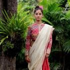 'My clothes are inspired by the sari'