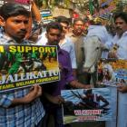 Despite Jallikattu ordinance, protests continue in Chennai