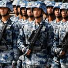 'No significant troop movement by China'