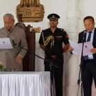 Zeliang sworn-in as Naga CM but expelled from party