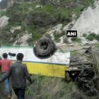 28 killed as bus falls into gorge in Shimla