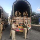 J & K: 66.5 kg heroin, brown sugar seized from truck on LoC