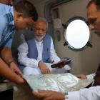 Modi announces Rs 500 cr for Gujarat flood relief work